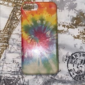 Tie-dye iPhone 8+ case